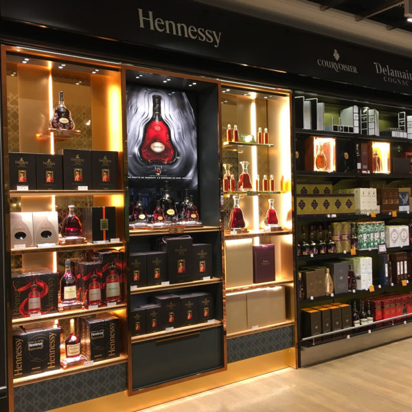 Corner Moet Hennessy