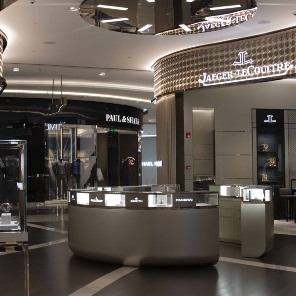Boutique multi-marque d'horlogerie de luxe